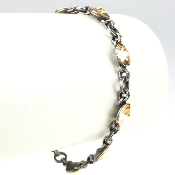 Rivoli crystal golden shadow Armband verschließbar