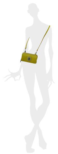 Konplott Plain is Beautiful Wallet Bag Citronelle - Neu 5450543544342