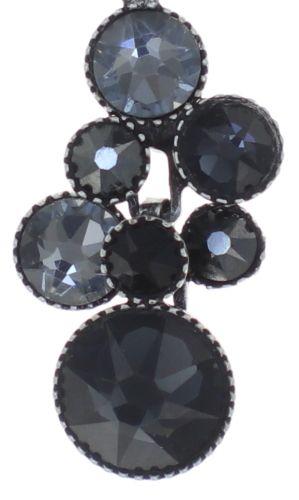 Konplott Water Cascade Halskette mit Anhänger in schwarz 5450543766553