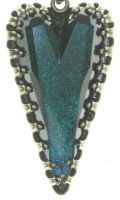 Vorschau: Konplott Snow White Ohrstecker in blau/grün Größe M 5450543758176