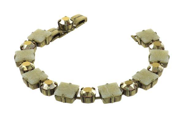 Konplott Cleo Armband Gold And Sand in braun 5450543909073