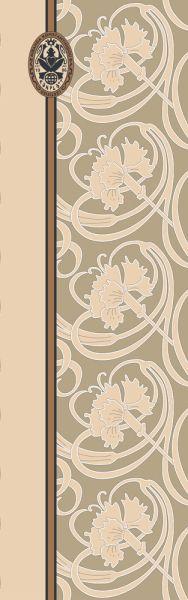 Konplott Schal Floral 13 in beige 5450543807034