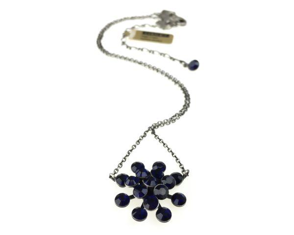 Konplott Magic Fireball Halskette mit Anhänger in dark indigo, dunkelblau 5450527611770