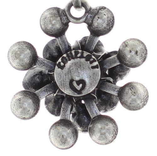 Konplott Magic Fireball Halskette Mini in graphite schwarz 5450543797427