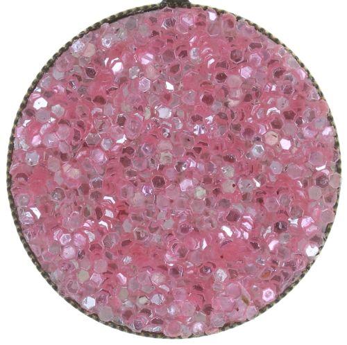 Konplott Studio 54 Ohrhänger in pink Messing 5450543748801