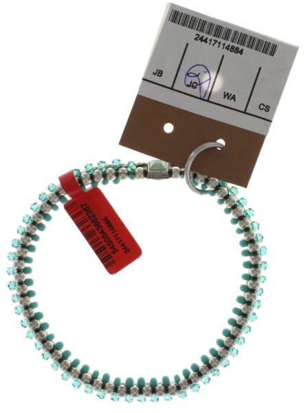 Konplott Bead Snakes elastisches Armband blau/grün 5450543662367