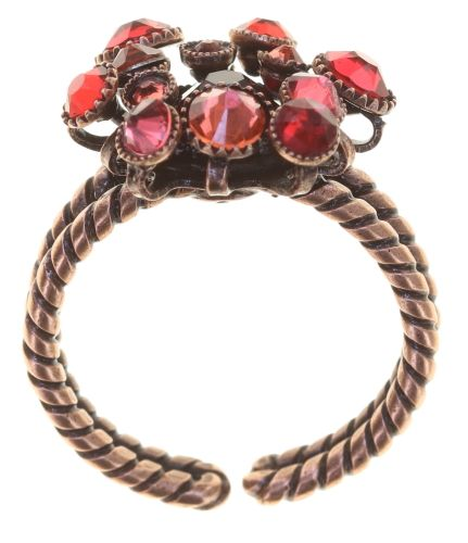 Konplott Alien Caviar Ring Forever Red 5450543891989