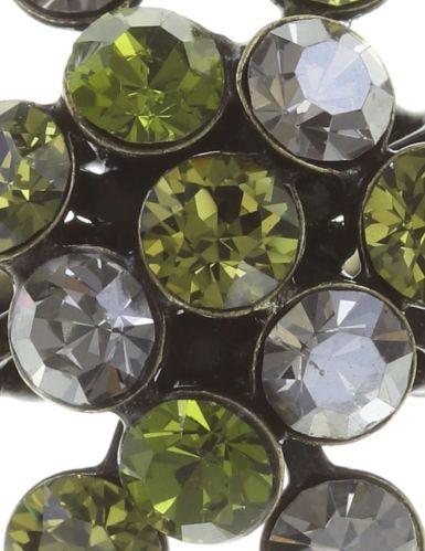 Konplott Magic Fireball Ring grün/ kristall 5450543683096