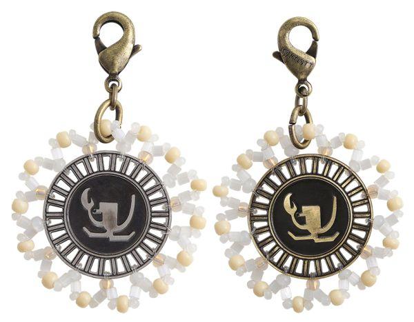 Konplott Zodiac weißer Charm-Anhänger (Krebs) 5450543648361