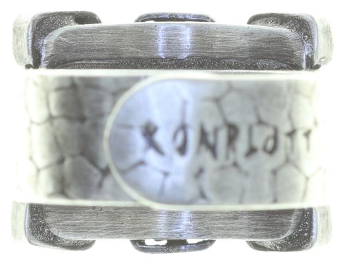 Konplott Industrial Ring in weiß 5450543757216