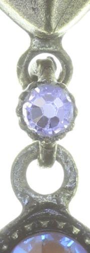 Konplott Tears of Joy Ohrstecker hängend in braun crystal cappucci Größe L 5450543763453