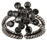 Konplott Magic Fireball Ring Mini in graphite schwarz 5450543797465