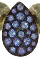 Vorschau: Konplott Tears of Joy Collier in braun crystal cappucci 5450543763408