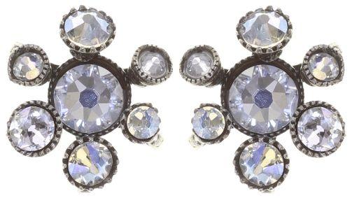 Konplott Alien Caviar Ohrring Crystal Clear *Neu: Fassung aus Titan 5450543895673