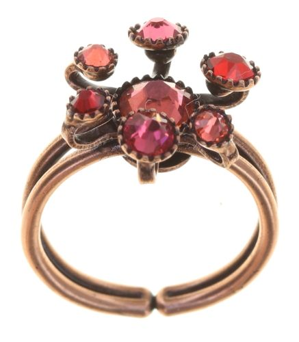 Konplott Alien Caviar Ring Forever Red 5450543895789