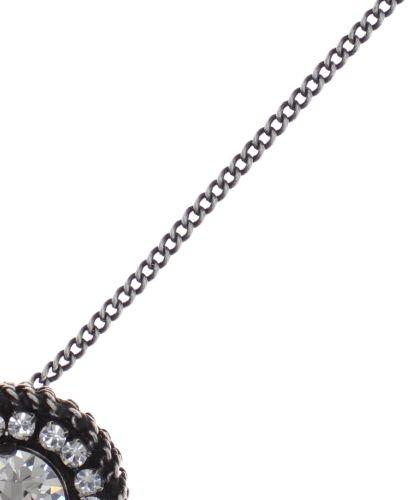 Konplott Rock 'n' Glam Halskette mit Anhänger in crystal weiß 5450543777016