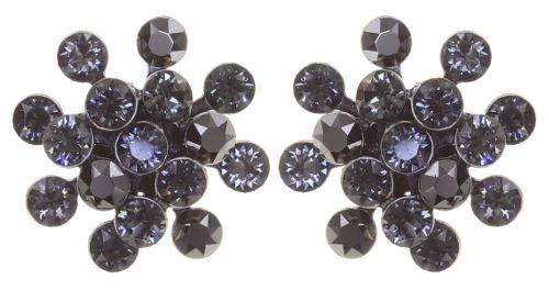 Konplott Magic Fireball Ohrstecker Mini in graphite schwarz 5450543797458