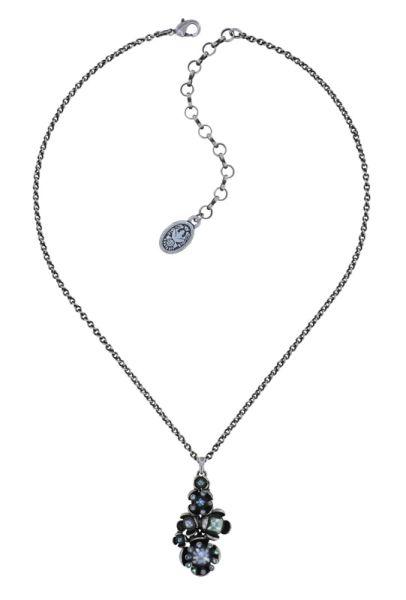 Konplott Halskette in blau/grün - Where the Lilac Bloom 5450543884097