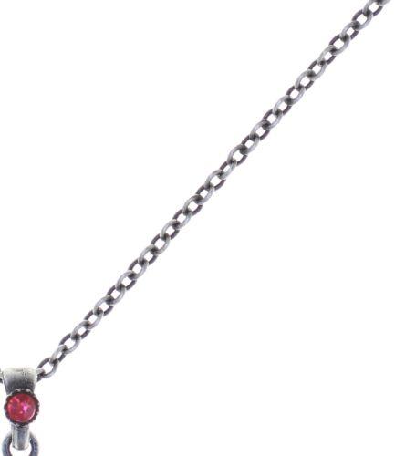 Konplott Cathedral Halskette mit Anhänger in rot 5450543748054