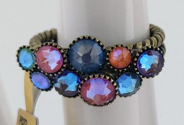 Konplott Water Cascade Ring Unicorn pastel multi 5450543882178