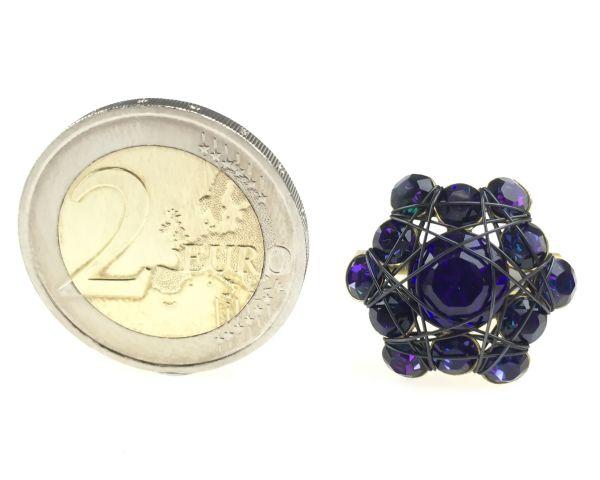Konplott Bended Lights Ring in Violett 5450527759946