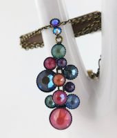 Vorschau: Konplott Water Cascade Halskette Unicorn pastel multi 5450543882017