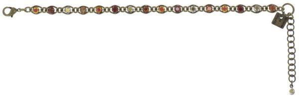 Konplott Magic Fireball Armband Amber Love klassisch in rötlich-braun 5450543893570
