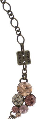 Konplott Petit Glamour steinbesetzte Halskette in beige 5450543682396