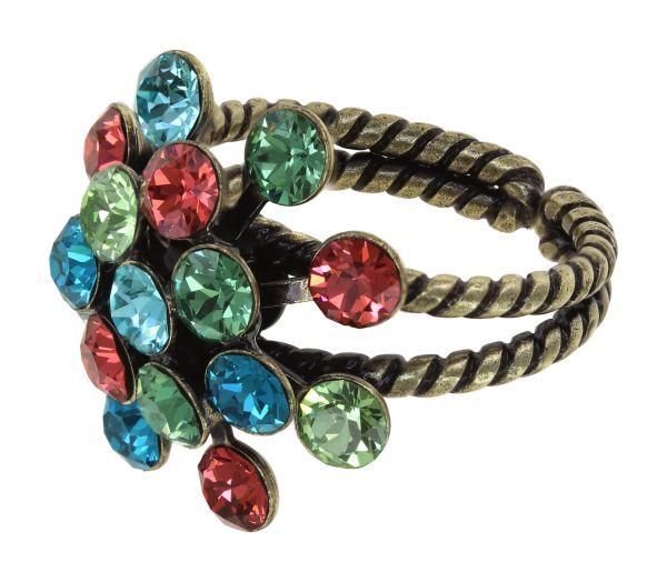 Konplott Magic Fireball Ring in strong multi Classic Size 5450543903903