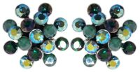 Vorschau: Konplott Magic Fireball Ohrstecker Emerald On Fire in mini 5450543936772