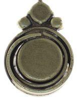 Vorschau: Konplott Boho Twist Halskette in crystal iridescent grün 5450543771977