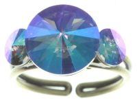 Vorschau: Konplott Rivoli Ring in lila crystal paradise shine 5450543785103