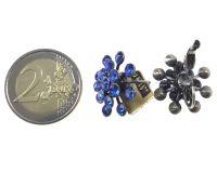 Vorschau: Konplott Magic Fireball Ohrhänger mit Klappverschluss in sapphire 5450527611718