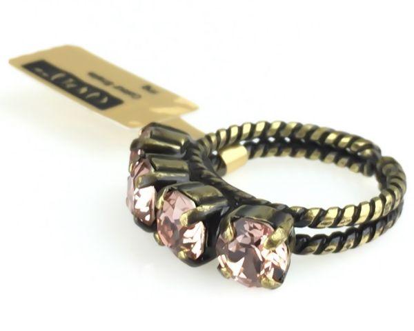 Konplott Colour Snake Ring in Vintage Rose 5450527640930