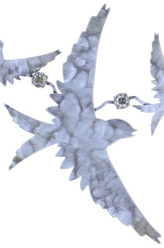 Konplott The Sparrow Halskette Größe L,M in silber - Widerrufsware wie neu 5450543749648