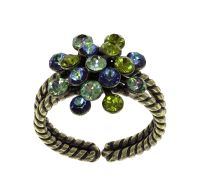 Konplott Magic Fireball Ring Moving Green in mini 5450543937205
