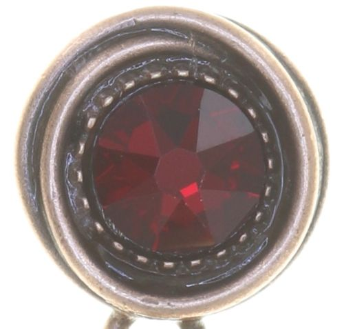 Konplott Amazonia Ohrhänger in rot, Größe M 5450543752907