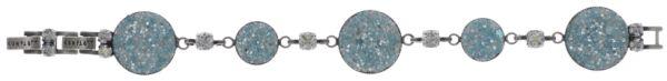 Konplott Studio 54 Armband in hellblau Silberfarben 5450543748375