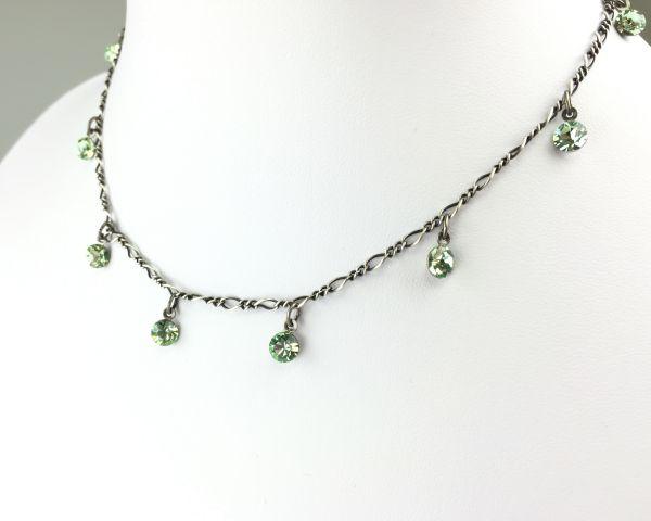 Konplott Tutui chrysolite Halskette steinbesetzt 5450527591683