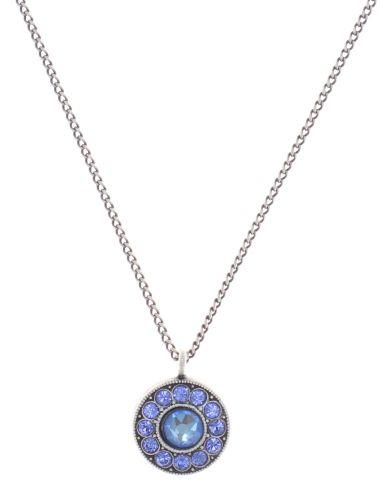 Konplott Spell on You Halskette mit Anhänger in blau antique 5450543859880