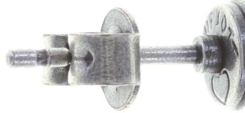 Konplott Black Jack Ohrstecker klassisch klein in lila crystal 5450543730752