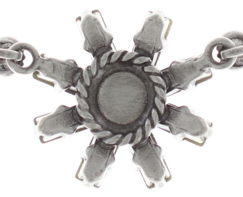 Konplott Spider Daisy Halskette in weiß 5450543737959