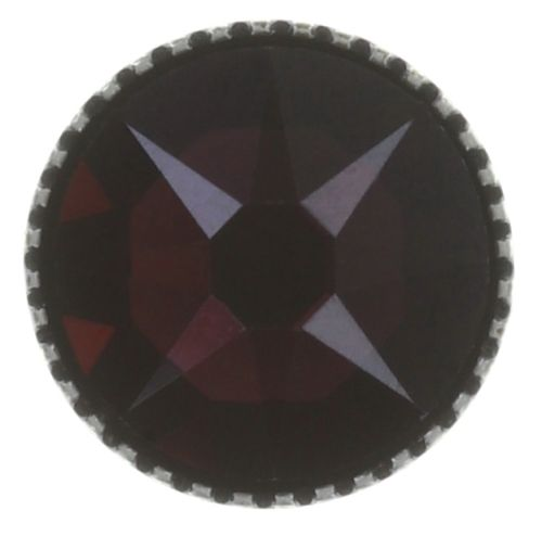 Konplott Black Jack Ohrstecker groß in lila crystal burgundy 5450543768823