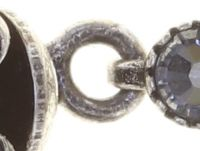 Vorschau: Konplott Petit Fleur de Bloom Armband in schwarz carbon bloom 5450543793535
