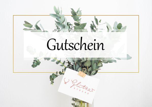 Glitzerstücke 10€ Gutschein - Konplott bei Glitzerstücke GSGS10