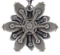 Vorschau: Konplott Psychodahlia Halskette mit Anhänger in grün/pink Silberfarben 5450543734668