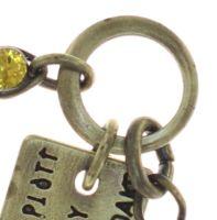 Vorschau: Konplott Magic Fireball Armband Mini in golden yellow 5450543797687