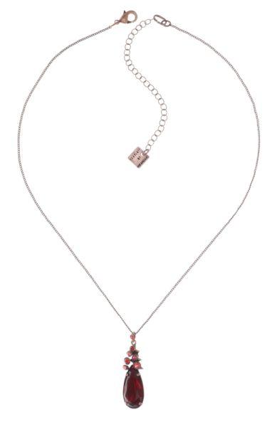 Konplott Alien Caviar Halskette mit Anhänger Forever Red 5450543891514