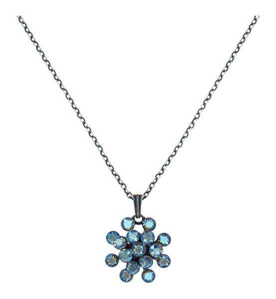 Konplott Magic Fireball Halskette in blue black diamond shimmer mini 5450543914749