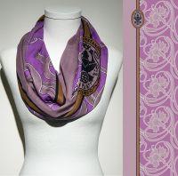 Konplott Schal Floral 9 in lila 5450543806945